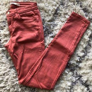 Joe's Deep Blush Skinny Jeans